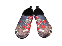 SKIN SHOES, Aqua shoes, Gym shoes (Plants vs Zombies - Rugby Zombie)  Made in Korea