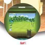 Screen Golf -Albatross Home Made in Korea