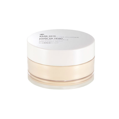 The face shop Bare Skin Mineral Cover Powder SPF27 PA++ V201 Apricot Beige 2