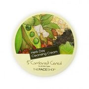 The face shop Herbday cleansing cream 5 combined cereal