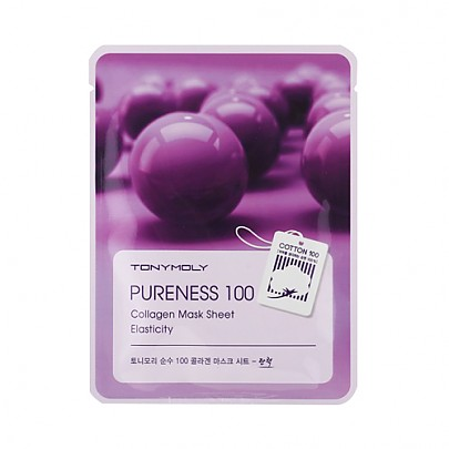 Tonymoly Pureness 100 Mask Sheet #Collagen 1